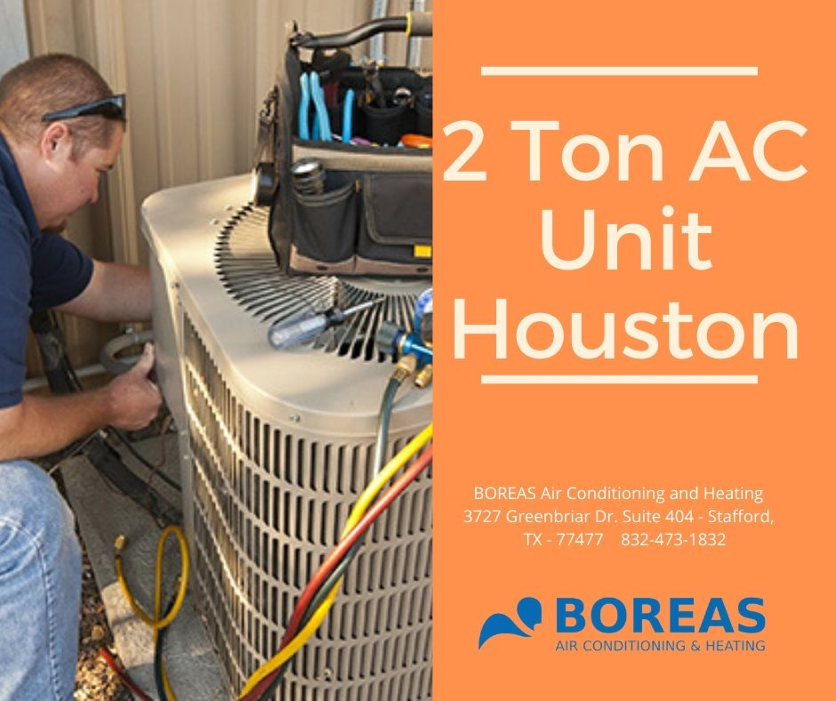 2 ton ac unit houston
